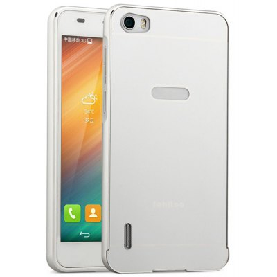 Fabitoo Aluminium Alloy Bumper Frame with PC Back Case for Huawei Honor 6