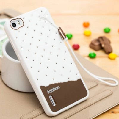 ФОТО Fabitoo Lanyard Design Silicone Back Cover Case for Huawei Honor 6