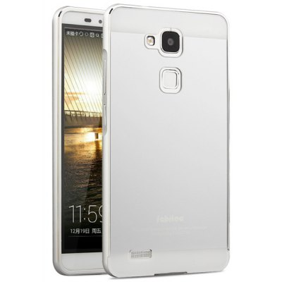 Fabitoo Aluminium Alloy Arc Bumper Frame with PC Back Case for Huawei Mate 7