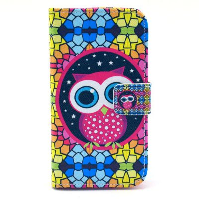 Lovely Owl Style Full Body Case with Credit Card Holder Stand for Motorola X XT1058 XT1055 XT1053