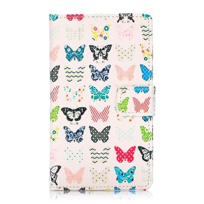 Гаджет   Lovely Butterfly Pattern PU Leather Case with Credit Card Holder Stand for Nokia Lumia 1020 Other Cases/Covers