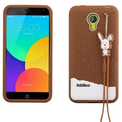 Fabitoo Silicone Back Cover Case for Meizu m1 note