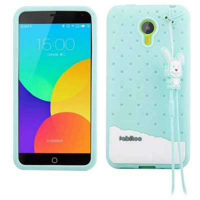Гаджет   Fabitoo Lanyard Design Silicone Back Cover Case for Meizu m1 note Other Cases/Covers