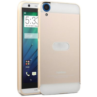 Гаджет   Fabitoo Frame Style Aluminium Alloy Bumper with PC Back Case for HTC Desire 820 Other Cases/Covers