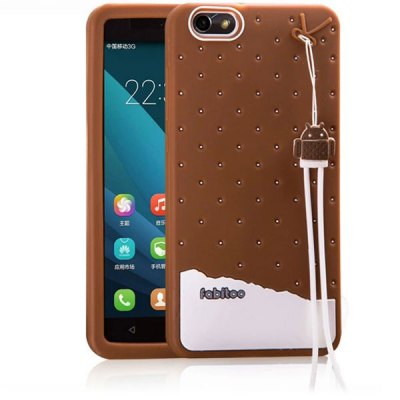 Fabitoo Silicone Back Cover Case for Huawei Honor 4X