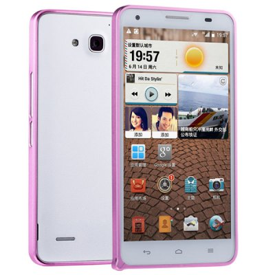 Гаджет   Fabitoo Stylish Frame Style Aluminium Alloy Bumper Case for Huawei Honor 3X Other Cases/Covers