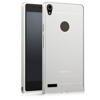 Гаджет   Fabitoo Frame Style Aluminium Alloy Bumper with PC Back Case for Huawei Ascend P6 Other Cases/Covers