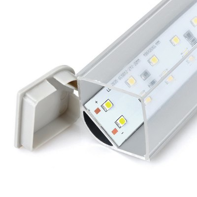 Фотография 15W 1100Lm 6000K SMD 3528 60 LEDs Tube Light Wiring Fluorescent Replacement Lamp