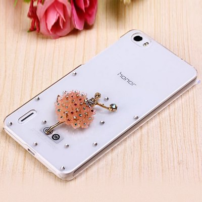 ФОТО Fabitoo Diamante Ballet Girl Pattern PC Transparent Back Cover Case for Huawei Honor 6