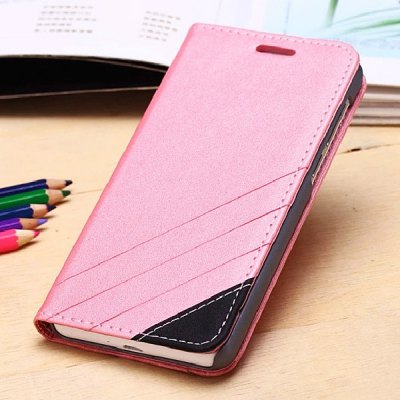 Гаджет   Fabitoo Contrast Color Stand Design PU and PC Material Cover Case for Huawei Honor 6 Other Cases/Covers