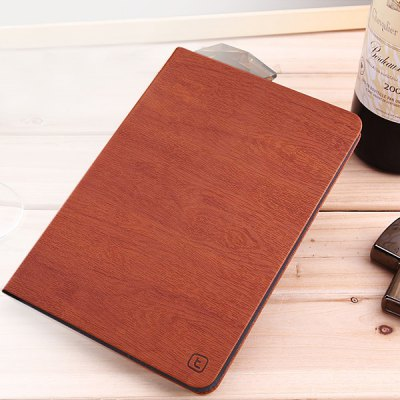 Torras Tree Texture Style PU and PC Material Stand Cover Case for iPad Air