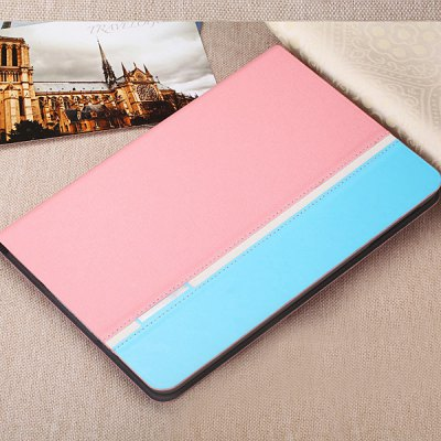 Torras Contrast Color Style PU and PC Material Stand Cover Case for iPad Air