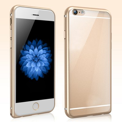 Torras Aluminium Alloy Bumper Frame with PC Back Case for iPhone 6 Plus - 5.5 inches