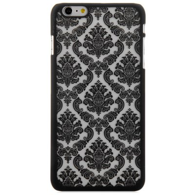 ФОТО Practical PC Material Exquisite Flower Pattern Protective Back Case for iPhone 6 Plus  -  5.5 inches