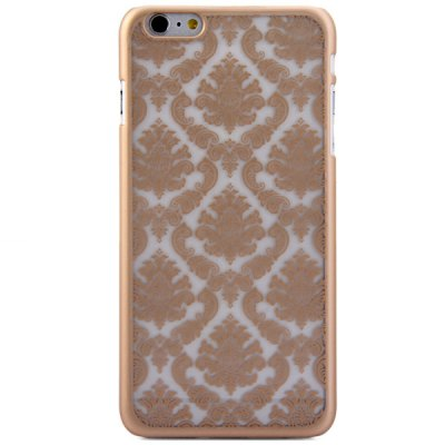 Гаджет   Practical PC Material Exquisite Flower Pattern Protective Back Case for iPhone 6 Plus  -  5.5 inches