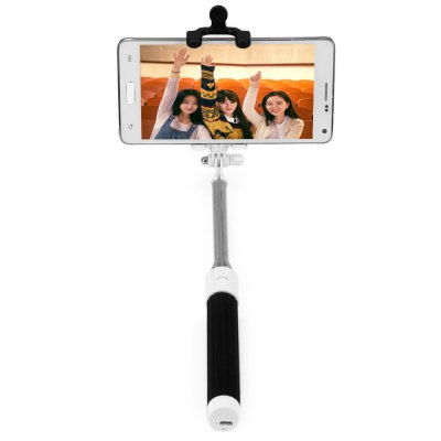 Portable Wireless Bluetooth RC Self Timer Stretch Monopod Camera Shutter with Rearview MirrorStands &amp; Holders<br>Portable Wireless Bluetooth RC Self Timer Stretch Monopod Camera Shutter with Rearview Mirror<br><br>Type: Bluetooth Selfie Monopod<br>Compatibility: Galaxy Note 4, Samsung Galaxy Note 3, Sony Ericsson, iPhone 5/5S, Xperia Z3, iPhone 6 Plus, Blackberry, HTC 8X, Nokia Lumia 920/820, Samsung Galaxy S4 i9500, iPhone 5C, Google Nexus 4/5, iPhone 6<br>Features: with Bluetooth<br>Bluetooth Version: Bluetooth3.0<br>Compatible System Version: iOS 8, Android 4.4, Android 4.2, Android 4.1, iOS 6, iOS 7<br>Folding Length: 19.3cm (7.6 inches)<br>Extended Length: 81cm (31.9 inches)<br>Clip Holder Range: 5.5 - 8.5 cm<br>Color   : Blue, Black<br>Product weight : 0.113 kg<br>Package weight : 0.170 kg<br>Product size (L x W x H) : 4.8 x 3.4 x 28 cm / 1.89 x 1.34 x 11.00 inches<br>Package size (L x W x H) : 23 x 5 x 3.3 cm / 9.04 x 1.97 x 1.30 inches<br>Package Contents: 1 x Bluetooth Selfie Monopod, 1 x Clip Stand, 1 x Selfie Mirror, 1 x USB Charging Cable, 1 x Chinese and English User Manual