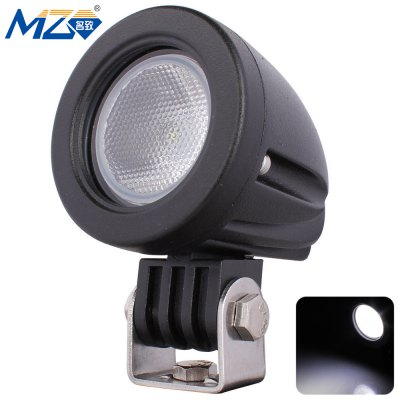 MZ - O - 10 - Flood - Round LED Floodlight 60 Degrees Work Light SUV UTV Head Light