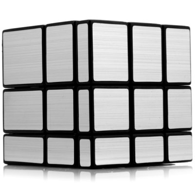 Фотография Shengshou Challenging 3 x 3 x 3 Brushed Silver Cube Puzzle Toy