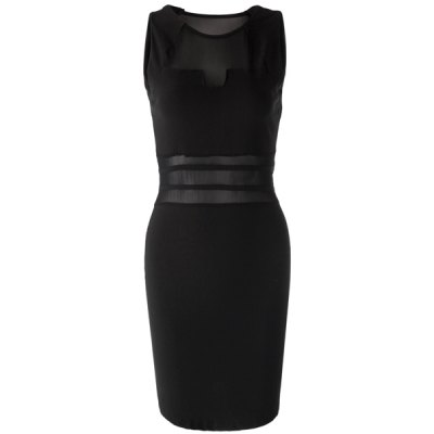 New Lady Womens Sexy Hollow Low-cut Sleeveless Packet Hip Mini Dress Dresses BlackWomens Dresses<br>New Lady Womens Sexy Hollow Low-cut Sleeveless Packet Hip Mini Dress Dresses Black<br><br>Style: Sexy &amp; Club<br>Material: Polyester<br>Silhouette: Sheath<br>Dresses Length: Mini<br>Neckline: Scoop Neck<br>Sleeve Length: Sleeveless<br>Embellishment: Spliced<br>Pattern Type: Others<br>Season: Summer<br>Weight: 0.186KG<br>Package Contents: 1 x Dress