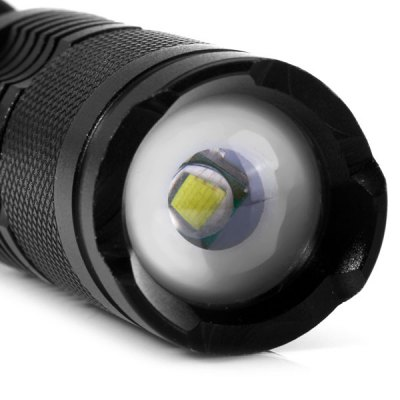 UltraFire 1600Lm Cree XML T6 18650 Zoomable LED Flashlight