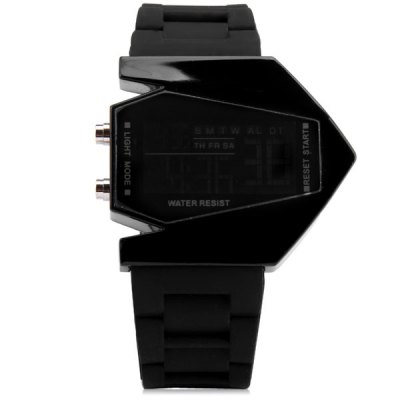 Sanda P028G Silicone Band LED Digital Men Watch for Outdoor ActivitiesLED Watches<br>Sanda P028G Silicone Band LED Digital Men Watch for Outdoor Activities<br><br>Available Color: Black,White<br>Band color: Black,White<br>Band material: Silicone<br>Brand: Sanda<br>Case color: Black,White<br>Case material: Alloy<br>Clasp type: Pin buckle<br>Display type: Digital<br>Movement type: Digital watch<br>Package Contents: 1 x Sanda P028G Silicone Digital Sport Men Watch<br>Package size (L x W x H): 26.00 x 6.00 x 2.00 cm / 10.24 x 2.36 x 0.79 inches<br>Package weight: 0.1100 kg<br>Product size (L x W x H): 24.90 x 5.00 x 1.00 cm / 9.8 x 1.97 x 0.39 inches<br>Product weight: 0.0770 kg<br>Shape of the dial: Rectangle<br>Style elements: LED<br>The band width: 24 mm<br>The bottom of the table: Ordinary<br>The dial diameter: 29 mm<br>The dial thickness: 10 mm<br>Watch style: Trends in outdoor sports<br>Watch-head: Ordinary<br>Watches categories: Male table