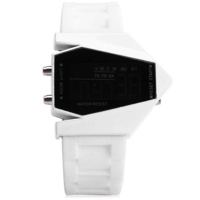 Sanda P028G Silicone Band LED Digital Men Watch for Outdoor ActivitiesMens Watches<br>Sanda P028G Silicone Band LED Digital Men Watch for Outdoor Activities<br><br>Available Color: Black,White<br>Band color: Black,White<br>Band material: Silicone<br>Brand: Sanda<br>Case color: Black,White<br>Case material: Alloy<br>Clasp type: Pin buckle<br>Display type: Digital<br>Movement type: Digital watch<br>Package Contents: 1 x Sanda P028G Silicone Digital Sport Men Watch<br>Package size (L x W x H): 26.00 x 6.00 x 2.00 cm / 10.24 x 2.36 x 0.79 inches<br>Package weight: 0.1100 kg<br>Product size (L x W x H): 24.90 x 5.00 x 1.00 cm / 9.8 x 1.97 x 0.39 inches<br>Product weight: 0.0770 kg<br>Shape of the dial: Rectangle<br>Style elements: LED<br>The band width: 24 mm<br>The bottom of the table: Ordinary<br>The dial diameter: 29 mm<br>The dial thickness: 10 mm<br>Watch style: Trends in outdoor sports<br>Watch-head: Ordinary<br>Watches categories: Male table