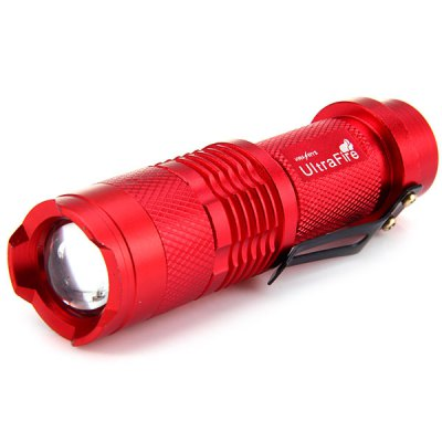 SK68 - 1 350LM Cree Q5 14500 AA Zoomable LED Flashlight