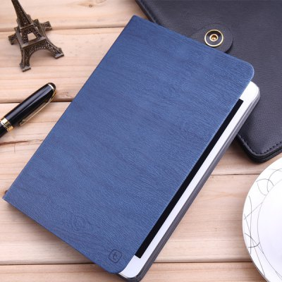Torras Tree Texture Style PU and PC Material Stand Cover Case for iPad 2 / 3 / 4