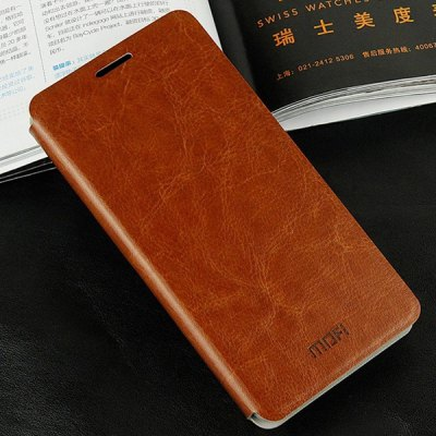 Mofi Stand Design PC and PU Material Cover Case for Samsung Galaxy Alpha G8508S