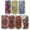 cheap Ultrathin Retro Flower Pattern TPU Material Back Case for iPhone 6  -  4.7 inches