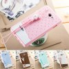 Fabitoo Lanyard Design Silicone Back Cover Case for Sony Xperia M2 S50h photo