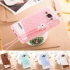 Fabitoo Lanyard Design Silicone Back Cover Case for Samsung Galaxy A3 A3000 photo