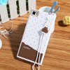 cheap Fabitoo Lanyard Design Silicone Back Cover Case for Xiaomi 3