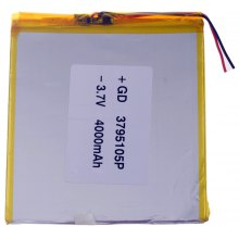 3795105P Replacement 3.7V 4000mAh Li - polymer Battery for 7 - 10 inch Macbook Samsung Acer Sony Apple Tablet PC