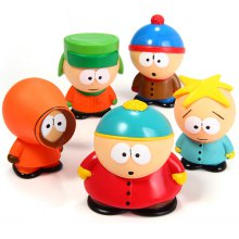Set of 5 pcs New South Park Butters Kyle Stan Cartman Kenny Action Figures Toy
