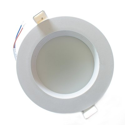 Zweihnder 9W 22 x SMD 5730 LED 5500  -  6000K 800LM Recessed Wiring Ceiling Down Light