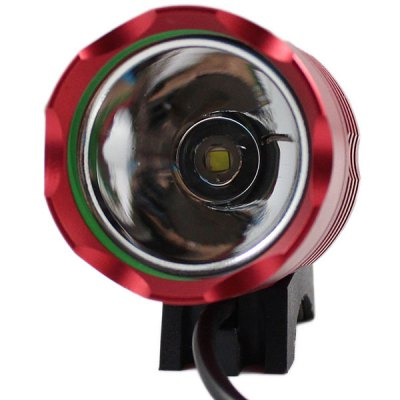 Kinfire KH  -  3 CREE XM  -  L T6 Water Resistant LED USB Cycling Headlight with 9600mAh Power BankHeadlights<br>Kinfire KH  -  3 CREE XM  -  L T6 Water Resistant LED USB Cycling Headlight with 9600mAh Power Bank<br><br>Brand: Kinfire<br>Headlight brand: KinFire<br>Model: KH-3<br>Function: Night Riding, Hiking, Walking, Camping<br>Feature: Can be used as headlamp or bicycle light<br>Lumen: 800Lm<br>Color Temperature: 7000K<br>Emitter number: 1 x Cree XML T6<br>Mode: 3 (High &gt; Low &gt; Strobe)<br>Power source: Mobile Power Bank<br>Working Voltage: DC 5 - 12V<br>Reflector: Aluminum smooth reflector<br>Lens: Glass Lens<br>Working time: 5 - 7 hrs<br>Waterproof: IP-67 Standard Water Resistant<br>Rechargeable: Yes<br>Available Light Color: Cool White<br>Color: Rose, Red, Blue, Green, Gold<br>Beam Distance: 50-100m<br>Body Material: Die-casting Aluminum + ABS<br>Product weight: 0.325 kg<br>Package weight: 0.4 kg<br>Product size (L x W x H): 10 x 7 x 6 cm / 3.93 x 2.75 x 2.36 inches<br>Package size (L x W x H): 13 x 8 x 9 cm / 5.11 x 3.14 x 3.54 inches<br>Package Contents: 1 x Kinfire Cree XM-L T6 800LM 3 Modes LED Headlight, 1 x 9600mAh Mobile Power Bank, 1 x Headband, 2 x O-ring, 1 x USB Cable (length: 30 cm)