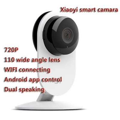 Гаджет   Original Xiaomi XiaoYi Intelligent 720P 4X Digital Zoom WiFi IP Camera Camcorder with TF Card Slot