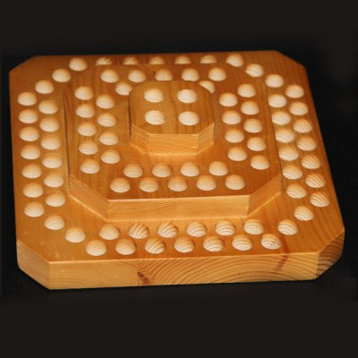 ФОТО Wooden Electronic Cigarette Display Stand with 104 Holes
