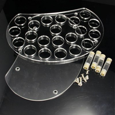 Фотография 21 Holes Acrylic Electronic Cigarette Stand for Drip Trip
