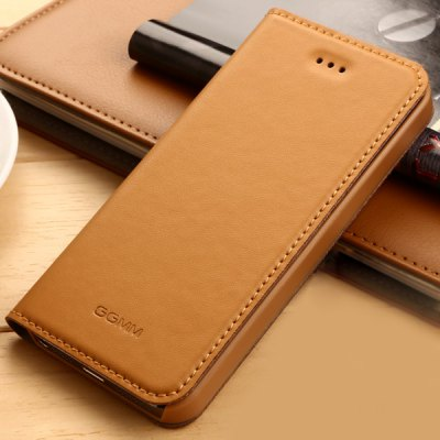 Фотография GGMM Stand Design PC and Genuine Leather Material Cover Case for iPhone 5 5S