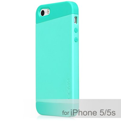 Гаджет   GGMM Contrast Color Style TPU Material Back Cover Case for iPhone 5 5S