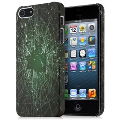 ФОТО GGMM Broken Glass Pattern PC Material Back Cover Case for iPhone 5 5S