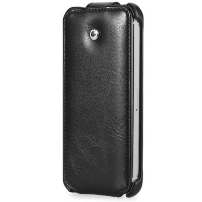 GGMM PU and PC Vertical Flip Cover Case for iPhone 5 5S