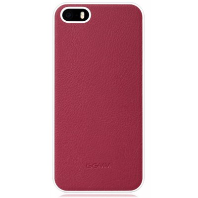 GGMM Ultrathin PC and PU Material Solid Color Back Cover Case for iPhone 5 5S