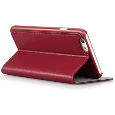 Гаджет   GGMM Stand Design PC and Genuine Leather Material Cover Case for iPhone 6  -  4.7 inch iPhone Cases/Covers