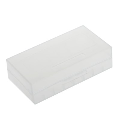 AYA - 1203 Translucent Plastic 18650 Battery Storage OrganizerBatteries<br>AYA - 1203 Translucent Plastic 18650 Battery Storage Organizer<br><br>Accessory type: Battery Holder<br>Product weight: 0.013 kg<br>Package weight: 0.070 kg<br>Product size (L x W x H): 8 x 4 x 2 cm / 3.14 x 1.57 x 0.79 inches<br>Package size (L x W x H): 8.5 x 5 x 2 cm / 3.34 x 1.97 x 0.79 inches<br>Package Contents: 1 x AYA-1203 18650 Battery Case