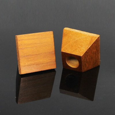 ФОТО 1 Piece Single Hole Wooden Electronic Cigarette Display Stand