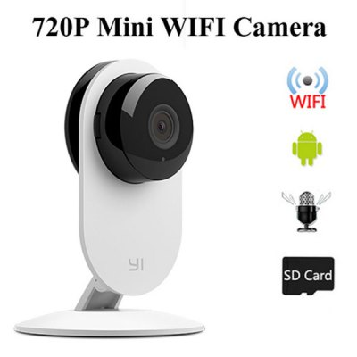 Xiaomi XiaoYi Intelligent 720P 4X Digital Zoom WiFi IP Camera Camcorder with TF Card Slot