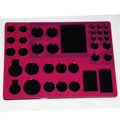 ФОТО 3 Layers Electronic Cigarette Acrylic Display Classify Stand